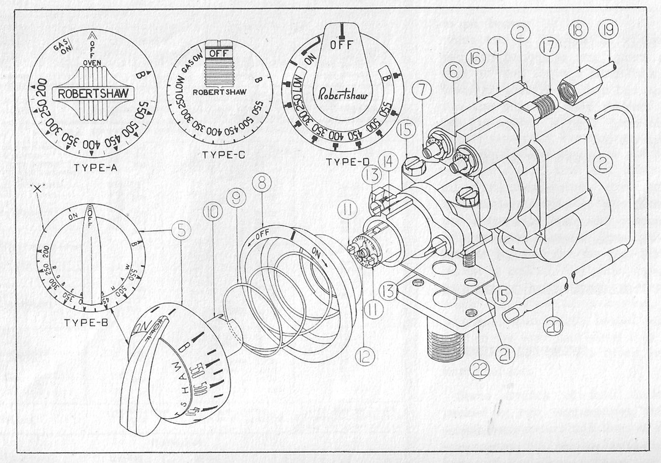 1950 gas o keefe merritt stove wiring diagram